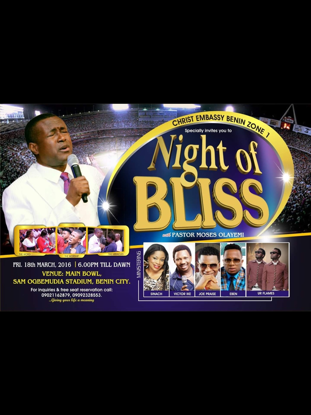 #Nightofblissbenin avatar picture